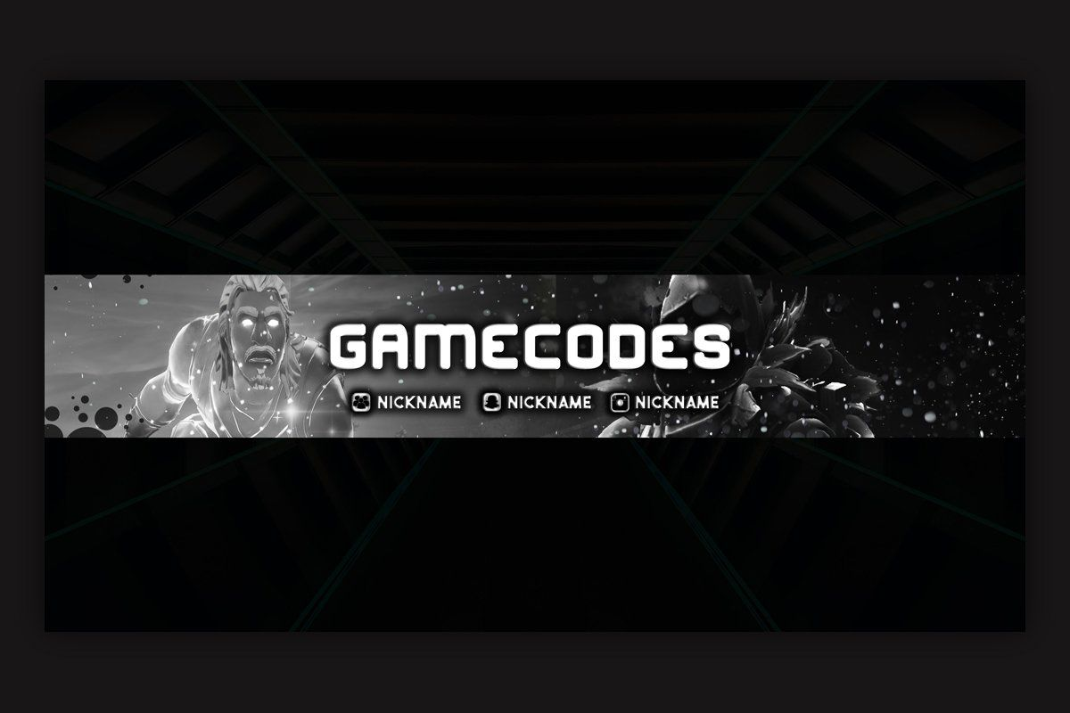 1592395510 281 10 Gaming YouTube Banner Template by immenseart on Creative Market