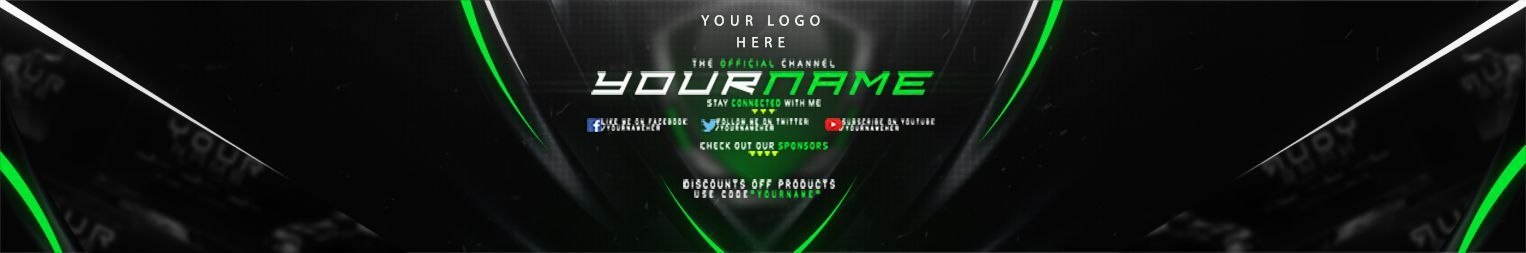 1592408565 639 YouTube Banner Template 15 Templates with Awesome Layouts and Images