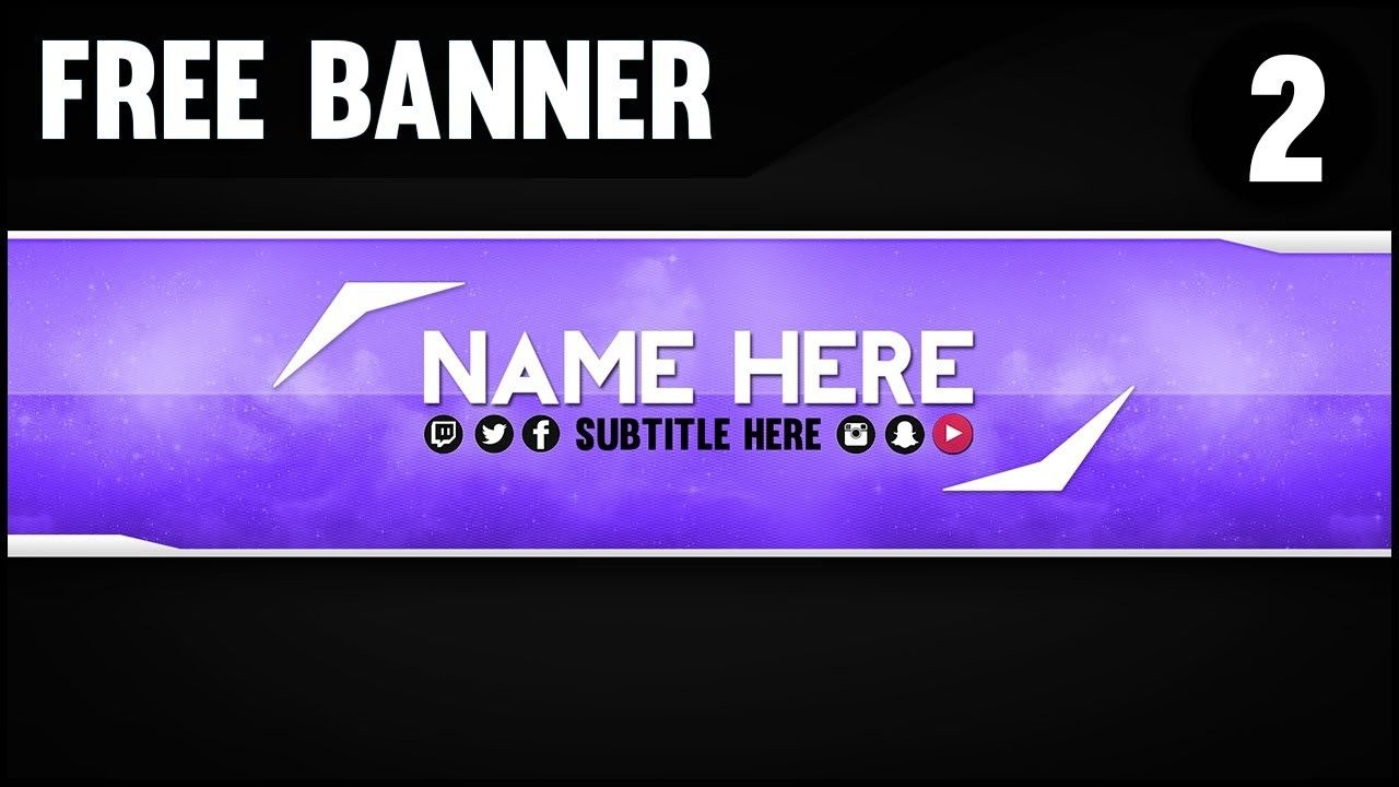 Youtube Banner Template Adobe This Story Behind Youtube Banner Template 1