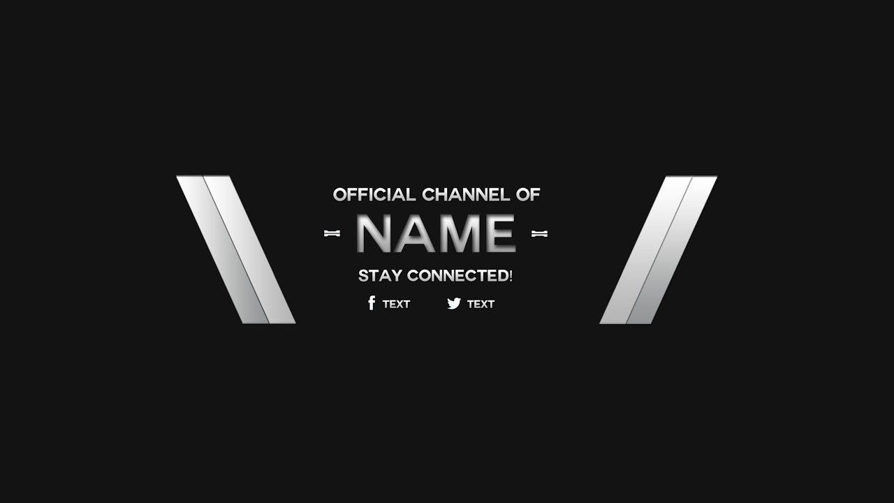 Youtube Banner Template Black And White Ten Various Ways To