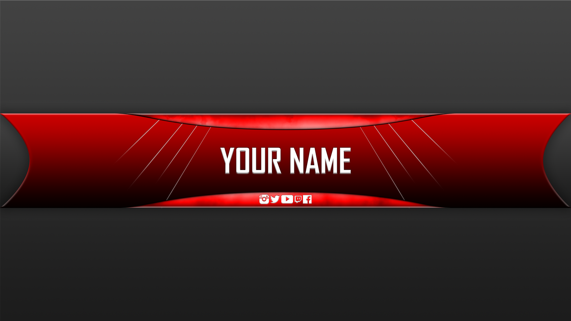 Youtube Banner Template No Text Red The 14 Common Stereotypes